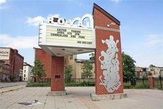 """This is all that is left of Baltimore's legendary Royal Theater today. It's also the place marker for the """"Chuck Jackson episode,"""" in my book, which provides an early glimpse into young Reginald F. Lewis's notions about the look of success. http://www.amazon.com/Lin-Hart/e/B00A15DISU/ref=ntt_dp_epwbk_0"""