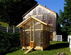 Here's a chicken coop that's more beautiful than many houses I've seen.