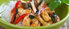10 minute Shrimp Curry by Steamy Kitchen