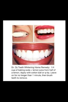 Drs teeth whitening home remedy. http://t.trusper.com/Drs-teeth-whitening-home-remedy/329475