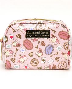 Sentimental Circus pouch with rabbit big top