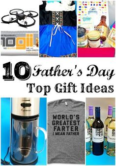 Father's day gift ideas for every dad in your family. Wine, tea, quad, lotions and more. Great ideas for shopping online for your man.