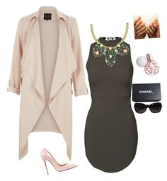 Untitled #2 by jazzlin-leslie on Polyvore featuring polyvore, fashion, style, Christian Louboutin, Chanel, women's clothing, women's fashion, women, female, woman, misses and juniors