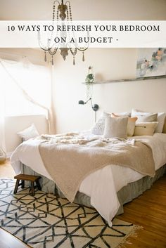 Vintage Whites Blog: 10 Ways To Refresh And Update Your Bedroom   On A  Budget