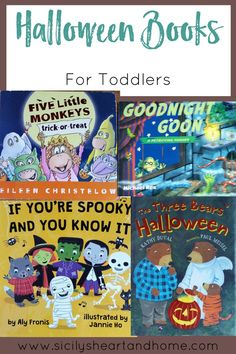 Toddler Halloween Books | Need a book list for this year's Halloween? Look no further. This list has over 10 toddler Halloween books that we are reading this year. Click through to check them out.