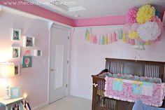 Girly, Whimsical Pink #Nursery