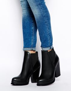 NEW SHOES :D  not too formal not to casual, perfect everyday heels! ASOS EMPIRE Chelsea Ankle Boots