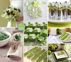 A Green Wedding Inspiration Board for St. Patrick's Day