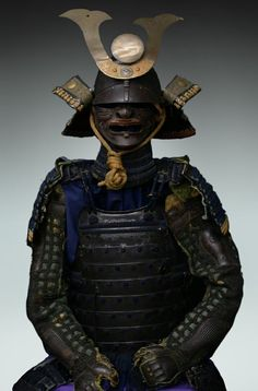This Kabuto (Japanese Samurai Helmet) is made of powerful strong ...