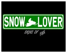 """Snowmobile sign, Personalized sign, ski doo sign, aluminum street sign, custom sign,arctic cat, room decor, 24""""x6"""" green by SignsofFun on Etsy"""