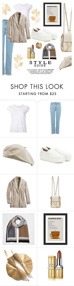"""""""Sneaking off for a final weekend away"""" by onenakedewe ❤ liked on Polyvore featuring Nili Lotan, Lee, Opening Ceremony, Chloé, River Island, Pottery Barn, Elizabeth Arden, Fall, AutumnFashion and whitesneakers"""