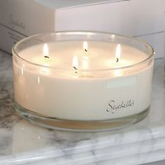 Seychelles Large Candle | The White Company