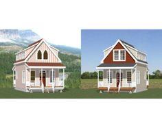 12x28 Tiny Homes 1-Bedroom 1.5-Bath 772 by ExcellentFloorPlans