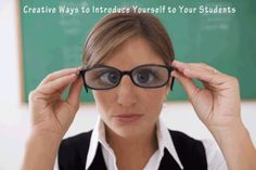 Ways to introduce yourself to your new class