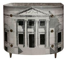 Decoupage Furniture, Painted Furniture, Decoupage Dresser, Wallpaper Furniture, Decoupage Ideas, Louis Seize, Piero Fornasetti, Stanley Furniture, Oriental Furniture