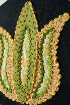 Fellowship of the Flowers: Week 22 and our May Project wool felt, wool applique