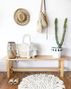 Get the Look! Bohemian Coastal Interior .. NEUTRAL TONES & TEXTURE
