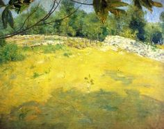 In the Shade of a Tree - Julian Alden Weir - The Athenaeum