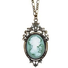 Antoinette Cameo Necklace~            Vintage-Inspired  from Chelsea Doll, UK