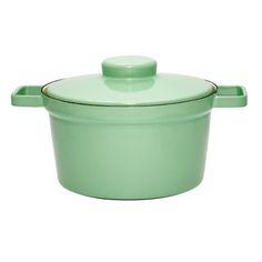 Enamel RIESS Cooking Pot in Mint. $160 on Fab.