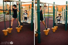 Get off the bench: 6 workouts to do while at the park with your kids! | How Does She...