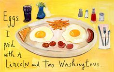Maria Kalman is an illustrator, author and designer who among many other things writes the And the Pursuit of Happiness blog which appears in the New York Times on the last Friday of every month.