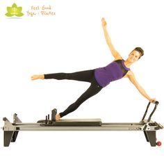 star pilates reformer exercise 3