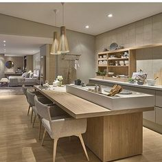 64 Ideas Farmhouse Dining Decor Wall For 2019 Modern Kitchen Design, Dining Room Floor, Kitchen Room, Kitchen Decor, Kitchen Remodel, Kitchen Diner, Kitchen Design, Luxury Kitchens, Dining Decor