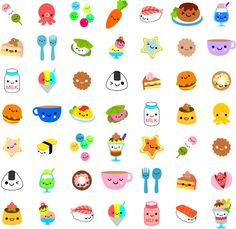 Kawaii Cute Foods- fun food faces