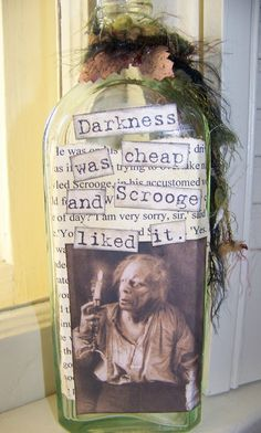 Scrooge Apothecary Jar