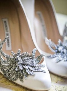 Manolo Blahnik.. I love wearing beautiful quality shoes that makes me feel beautiful and happy and loved