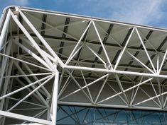 https://flic.kr/p/aCDgVM | Sainsbury Centre for Visual Arts | Space frame - wall meets roof