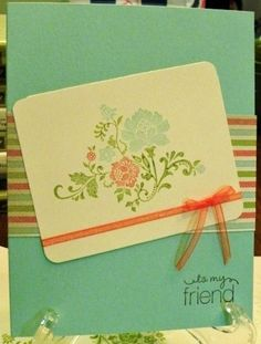 Stampin. Up Fresh Vintage