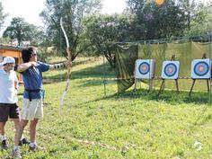 Challenges de tir à l'arc avec l'arc club bugiste Arch, Challenge, Dragon, Club, Sports, Olympics, Archery, Rowing, Hs Sports