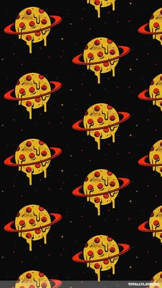 Pizza space #pizza