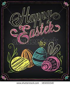 Find Vintage Card Graphic Elements Easter Chalking stock images in HD and millions of other royalty-free stock photos, illustrations and vectors in the Shutterstock collection. Thousands of new, high-quality pictures added every day. Chalkboard Pictures, Chalkboard Doodles, Chalkboard Art Quotes, Blackboard Art, Chalkboard Calendar, Chalkboard Print, Chalkboard Drawings, Chalkboard Lettering, Chalkboard Designs