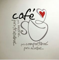 Café I Love Coffee, Coffee Break, My Coffee, Coffee Mugs, Love Cafe, Arabic Words, Coffee Quotes, Lettering, My Love