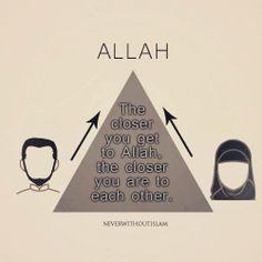 Marriage in Islam. Islamic Love Quotes, Muslim Quotes, Islamic Inspirational Quotes, Hadith, Alhamdulillah, Islam Marriage, Marriage Advice, Islam Women, Islam Religion