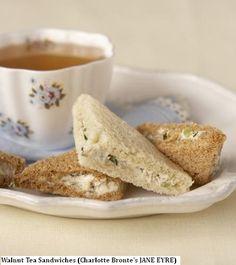 Walnut Tea Sndwiches  Jane Eyre