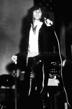 Jim Morrison, The Doors Photo 8x12 or 8x10 inch Live 60's Concert Pro Print 28