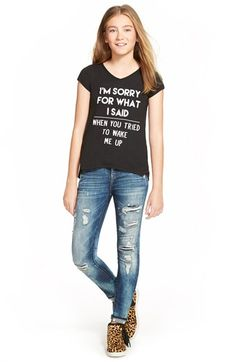 BLANKNYC  Fit of Rage  Destroyed Jeans (Big Girls)  bc89b853d