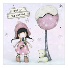 Gorjuss Girls are truly beautiful thought-provoking artworks. Click and view all gorjuss new arrivals! Merry Christmas Baby, Christmas Time, Christmas Cards, Santoro London, Christmas Drawing, Fun Fold Cards, Scrapbook Journal, Winter Fun, Christmas Pictures
