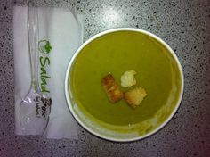 pea cream soup