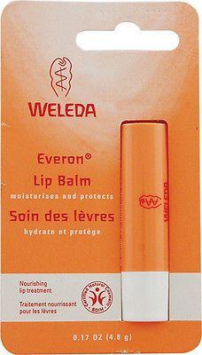 Other Lip Makeup: Weleda Everon Lip Balm - 6 X 0.17 Oz Sticks -> BUY IT NOW ONLY: $39.06 on eBay!