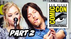 #VID Walking Dead Comic Con 2014 Panel - Part 2