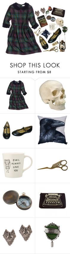 """""""""""Look out to the future// But it tells you nothing// So take another breath"""""""" by peregrinetook ❤ liked on Polyvore featuring Brooks Brothers, By Nord, Authentic Models, Lulu Guinness and Tom Binns"""