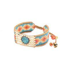 Woman Pearl Pink & TurquoiseMisty - mishky Bracelet