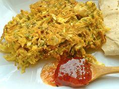 Legume la cuptor cu tofu si chutney de mango