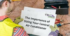 sizing new HVAC units - air conditioning and heating installation