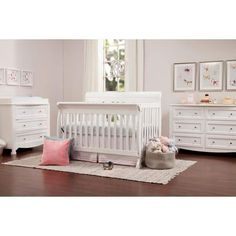 94e1f3c17d6 DaVinci Kalani 4-in-1 Convertible Crib Baby Furniture